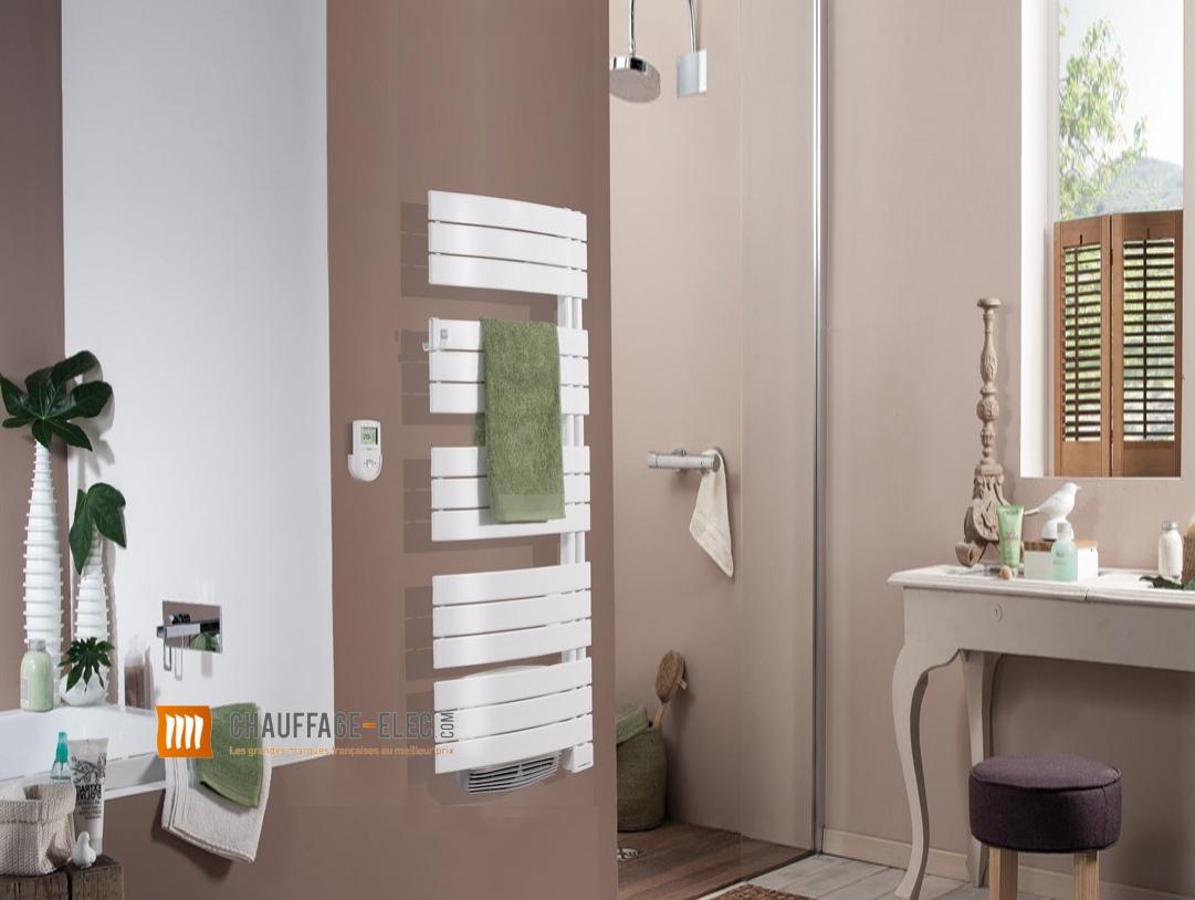 radiateur s che serviettes allure soufflerie pivotant droite thermor chauffage elec. Black Bedroom Furniture Sets. Home Design Ideas