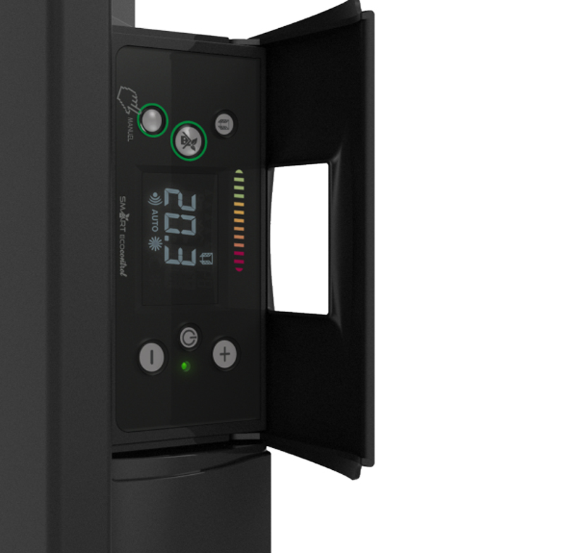CALIDOU Vertical Smart ECOcontrol Anthracite