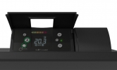 CALIDOU Horizontal Smart ECOcontrol Anthracite