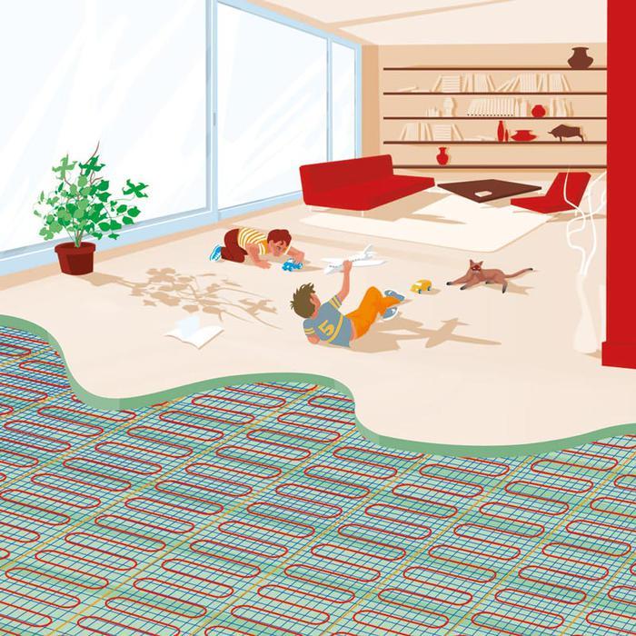 construction neuve ks thermor chauffage elec. Black Bedroom Furniture Sets. Home Design Ideas