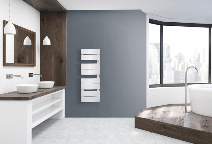 radiateur s che serviettes mono bain 2 largeur 40 cm noirot chauffage elec. Black Bedroom Furniture Sets. Home Design Ideas